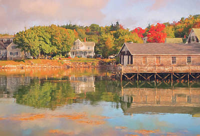 Gorgeous Photograph - Boothbay Harbor by Marcia Colelli