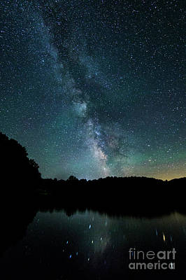 Photograph - Boothbay Milky Way by Patrick Fennell
