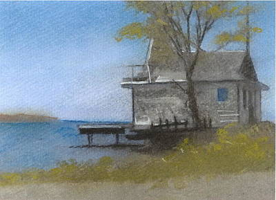Pastel - Boothbay Morning by John Brisson