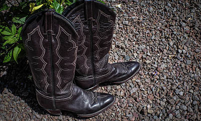 Wall Art - Photograph - Boots 2  by Giovanni Arroyo