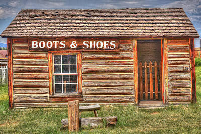 Photograph - Boots And Shoes 2 by Richard J Cassato