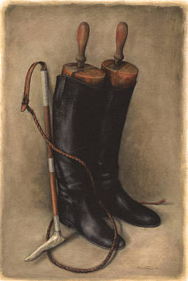 Painting - Boots And Whip by Meridith Martens
