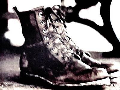 Photograph - Boots by Dietmar Scherf