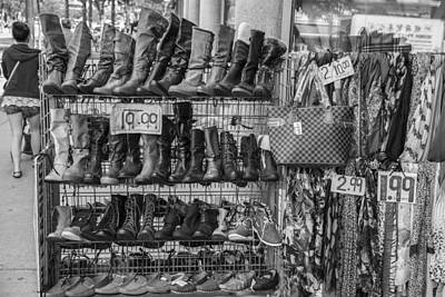 Photograph - Boots In Toronto  by John McGraw