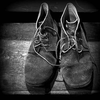 Photograph - Boots by Joseph Skompski