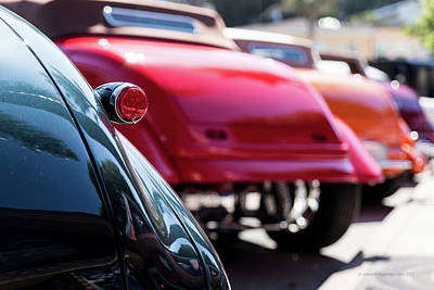 Photograph - Boots Of Colorful Cars by Lora Lee Chapman