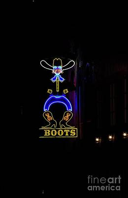 Boots On Broadway Art Print