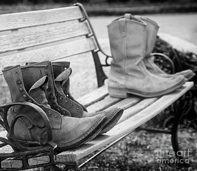 Photograph - Boots by Scott Kemper