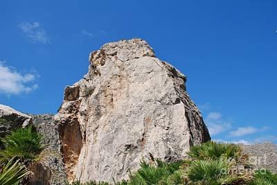 Photograph - Boquer Valley Rocks In Majorca by David Fowler