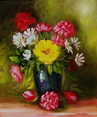Painting - Boquet by Gene Gregory