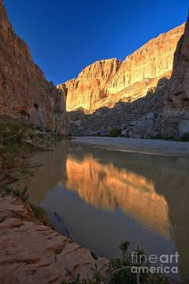 Photograph - Boquillas Canyon Portrait by Adam Jewell