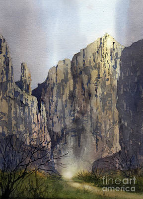 Painting - Boquillas Glow by Tim Oliver