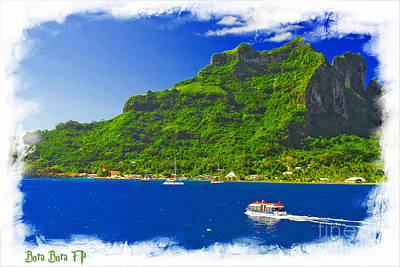 Old Masters Royalty Free Images - Bora Bora FP Ver 1 Royalty-Free Image by Larry Mulvehill