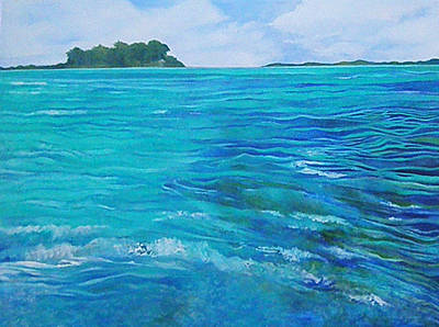 Painting - Bora Bora  by Kandy Cross
