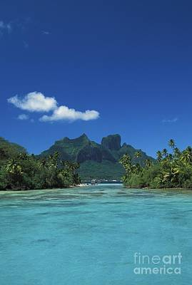 Kyle Rothenborg Photograph - Bora Bora, Mt. Otemanu by Kyle Rothenborg - Printscapes
