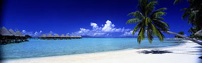 South Pacific Photograph - Bora Bora South Pacific by Panoramic Images