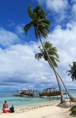 Photograph - Bora Bora View by David Rich