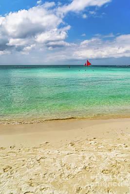 Photograph - Boracay Seascape by Adrian Evans