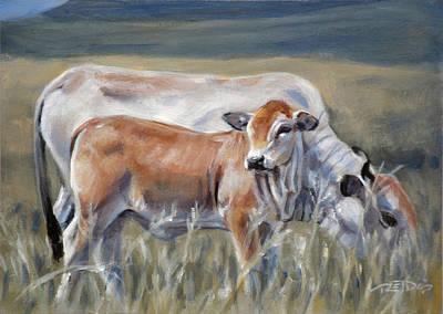 Painting - Boran by Christopher Reid
