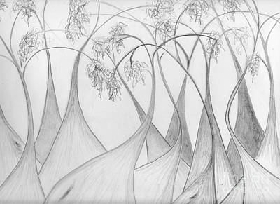 Drawing - Boranup Forest by Leonie Higgins Noone