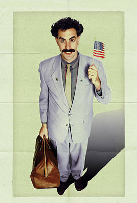 Borat Digital Art - Borat 2006 by Unknown