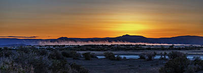 Photograph - Borax Lake At Sunrise by Cat Connor