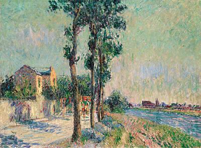 Bord De L'oise Art Print by Gustave Loiseau