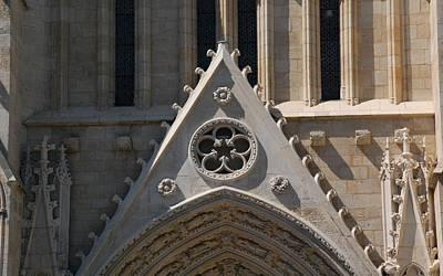 Landmark Digital Art - Bordeaux Cathedral by Maye Loeser