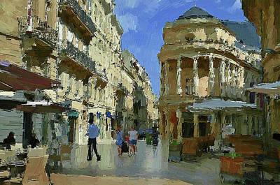Bordeaux France Art Print