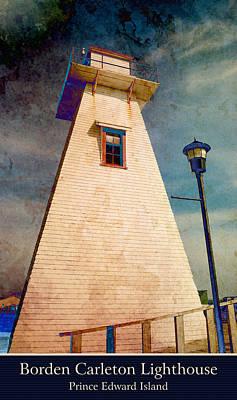 Photograph - Borden Carleton Lighthouse 2 by WB Johnston