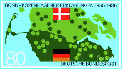 Painting - Border Of Germany And Denmark by Lanjee Chee
