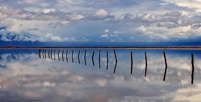 Borderline - Reflections Of Earth Art Print by Steven Milner