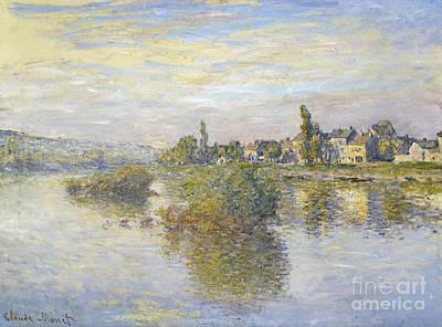Bucking Bronco Painting - Bords De La Seine by Celestial Images