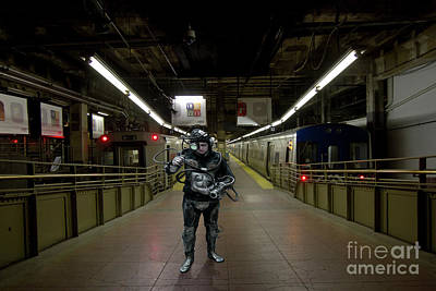 Borg Digital Art - Borg At Grand Central Nyc by Theodore Liasi