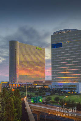 Photograph - Borgata Hotel Casino Atlantic City by David Zanzinger
