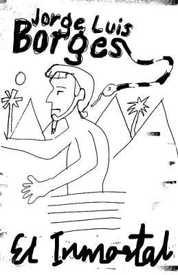 Borges El Inmortal Poster Art Print
