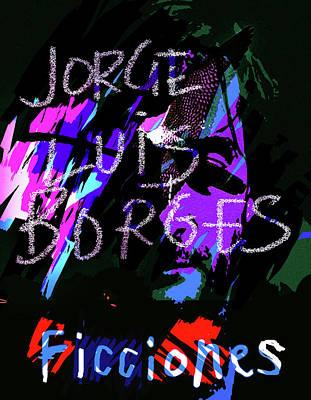 Borges Ficciones/fictions Poster Art Print