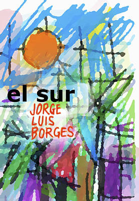 Borges The South Poster Art Print