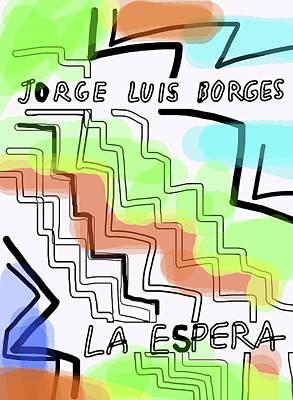 Borges The Wait Short Story  Art Print