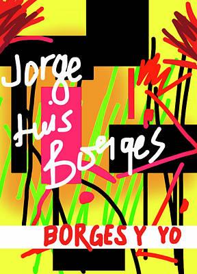 Borges Y Yo  Art Print