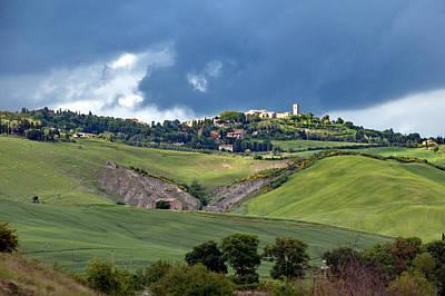 Photograph - Borgho In Tuscany by Francois Dumas