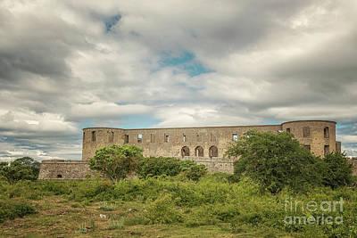 Photograph - Borgholm Castle Ruin 01 by Antony McAulay