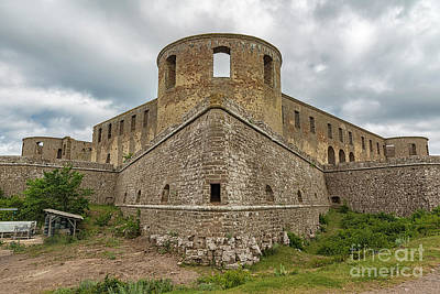 Photograph - Borgholm Castle Ruins by Antony McAulay