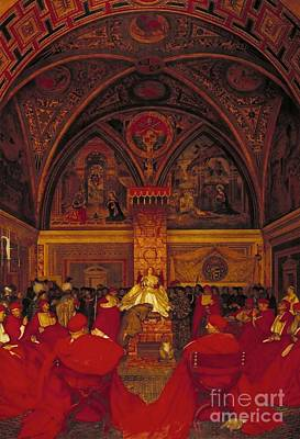 Borgia Painting - Borgia Reigns In The Vatican by MotionAge Designs
