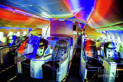 Photograph - Boeing 787 Interior by Rick Bragan