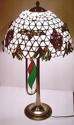 Boris Godunov Lamp Art Print by Greg Gierlowski