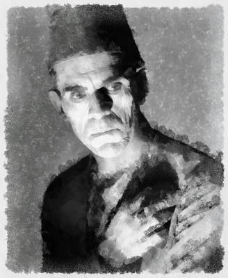 Boris Karloff Art Print by Esoterica Art Agency