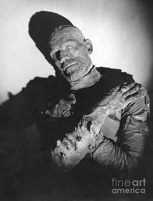 Photograph - Boris Karloff The Mummy by R Muirhead Art