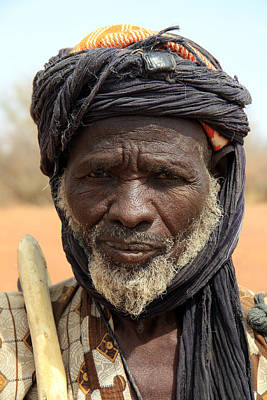 Dogon Country Photograph - Borko 2009 by Huib Blom