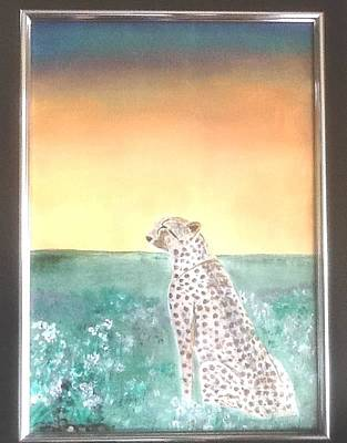 Painting - Born Free by Audrey Pollitt